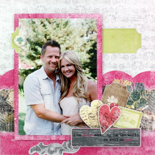 How to make valentine scrapbook for boyfriend valentine for Valentines day trip ideas