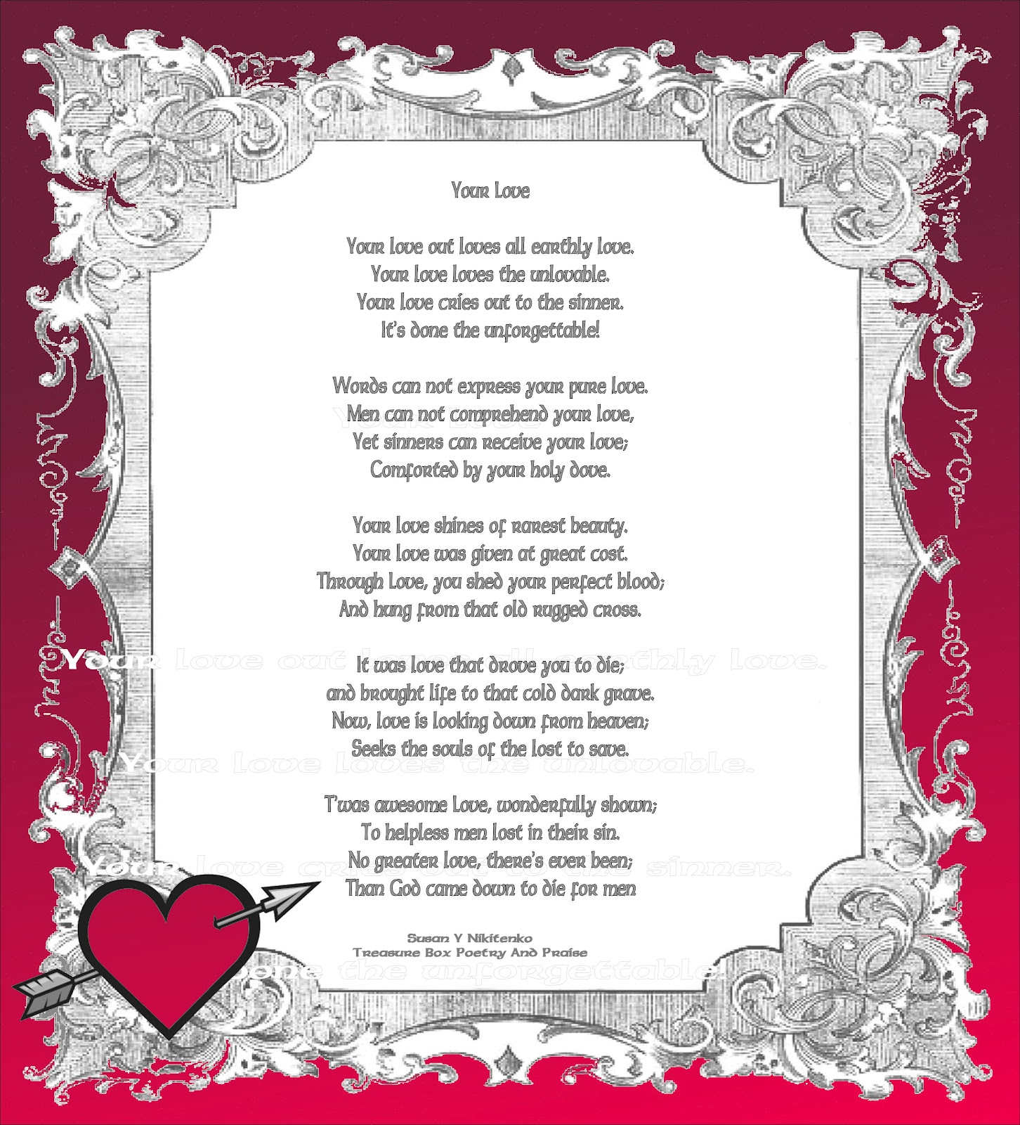 valentines day religious poems valentine traditions - Christian Valentine Poems