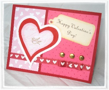 Valentine s day homemade card ideas valentine traditions for Designs for valentine cards